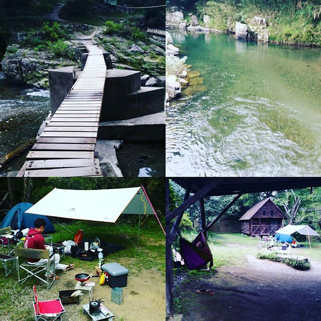 埼玉の嵐山でキャンプ